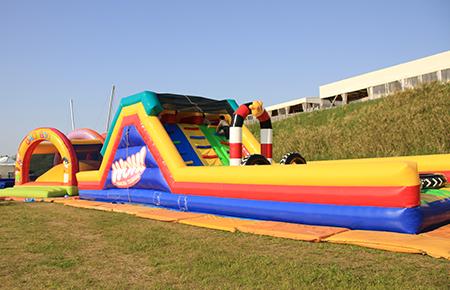 Huwa-huwa (air playground equipment)