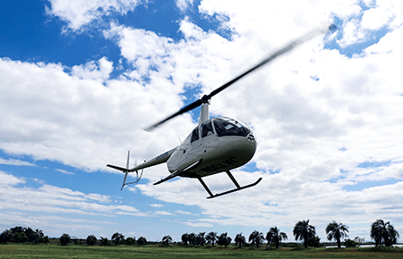 Sight-seeing helicopter